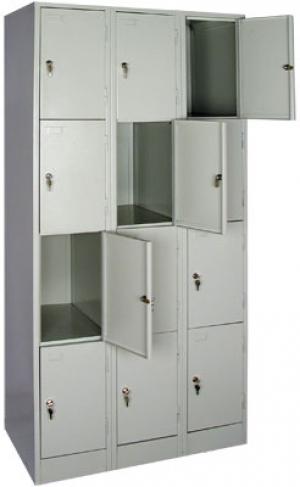 Шкаф металлический для сумок ШРМ - 312 купить на выгодных условиях в Красноярске