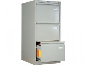 Шкаф металлический картотечный ПРАКТИК AFC-03 купить на выгодных условиях в Красноярске
