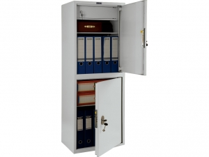 Шкаф металлический бухгалтерский ПРАКТИК SL-125/2Т купить на выгодных условиях в Красноярске
