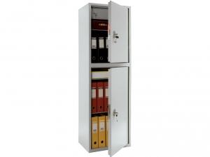 Шкаф металлический бухгалтерский ПРАКТИК SL-150/2Т купить на выгодных условиях в Красноярске