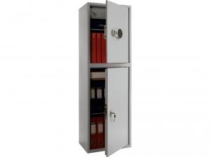 Шкаф металлический бухгалтерский ПРАКТИК SL-150/2Т EL купить на выгодных условиях в Красноярске