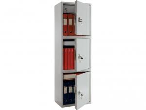 Шкаф металлический бухгалтерский ПРАКТИК SL-150/3Т купить на выгодных условиях в Красноярске