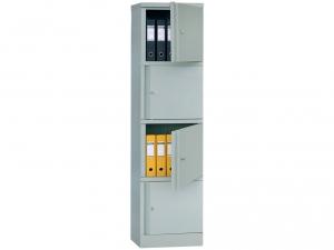 Шкаф металлический для хранения документов ПРАКТИК AM 1845/4 купить на выгодных условиях в Красноярске