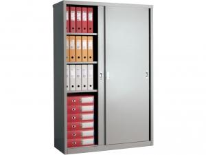 Шкаф металлический для хранения документов NOBILIS AMT 1812 купить на выгодных условиях в Красноярске
