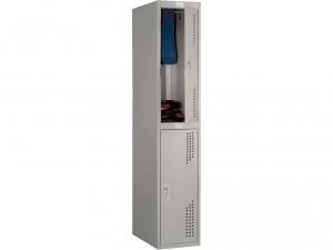 Шкаф металлический для одежды NOBILIS NL-02 купить на выгодных условиях в Красноярске