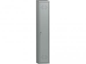 Шкаф металлический для одежды ПРАКТИК LS(LE)-01 купить на выгодных условиях в Красноярске