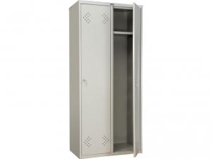 Шкаф металлический для одежды ПРАКТИК LS(LE)-21-80 купить на выгодных условиях в Красноярске