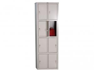 Шкаф металлический для одежды ПРАКТИК LS(LE)-24 купить на выгодных условиях в Красноярске