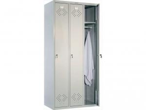 Шкаф металлический для одежды ПРАКТИК LS(LE)-31 купить на выгодных условиях в Красноярске