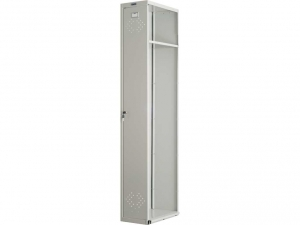 Шкаф металлический для одежды ПРАКТИК LS(LE)-001 купить на выгодных условиях в Красноярске