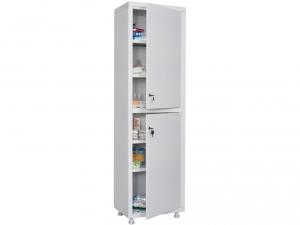 Металлический шкаф медицинский HILFE MD 1 1657/SS купить на выгодных условиях в Красноярске