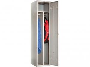 Шкаф металлический для одежды ПРАКТИК LS(LE)-11-40D купить на выгодных условиях в Красноярске