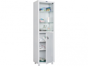 Металлический шкаф медицинский HILFE MD 1 1650/SG купить на выгодных условиях в Красноярске