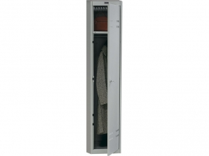Шкаф металлический для одежды NOBILIS AL-01 купить на выгодных условиях в Красноярске