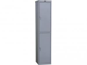Шкаф металлический для одежды NOBILIS AL-02 купить на выгодных условиях в Красноярске