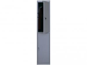 Шкаф металлический для одежды NOBILIS AL-002 купить на выгодных условиях в Красноярске