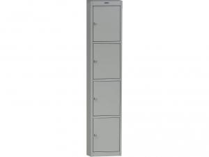 Шкаф металлический для одежды NOBILIS AL-04 купить на выгодных условиях в Красноярске