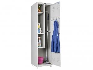 Шкаф металлический для одежды ПРАКТИК LS 11-50 купить на выгодных условиях в Красноярске
