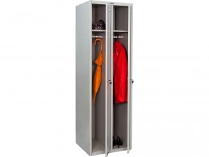 Шкаф металлический для одежды ПРАКТИК LS(LE)-21 купить на выгодных условиях в Красноярске