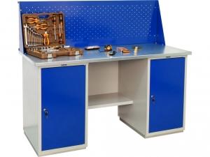 Верстак металлический ПРАКТИК WB 160Sh+WD1+WD1 купить на выгодных условиях в Красноярске