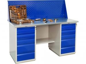 Верстак металлический ПРАКТИК WB 160Sh+WD5+WD5 купить на выгодных условиях в Красноярске