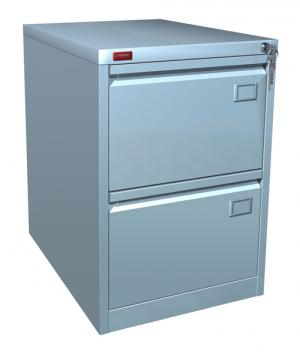 Шкаф металлический картотечный КР - 2 купить на выгодных условиях в Красноярске