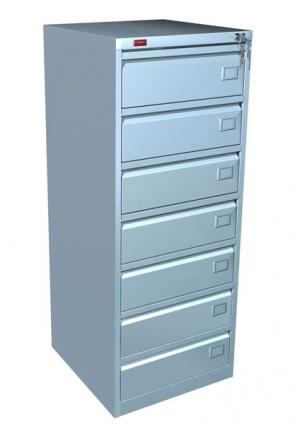 Шкаф металлический картотечный КР - 7 купить на выгодных условиях в Красноярске
