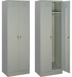 Шкаф металлический для одежды ШРМ - 22/800 купить на выгодных условиях в Красноярске