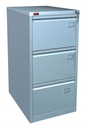 Шкаф металлический картотечный КР - 3 купить на выгодных условиях в Красноярске