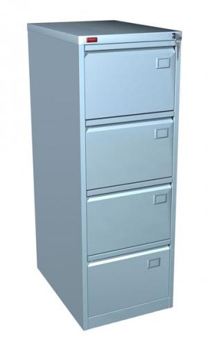 Шкаф металлический картотечный КР - 4 купить на выгодных условиях в Красноярске