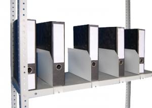 Папкодержатель усиленный 50 для металлического стеллажа купить на выгодных условиях в Красноярске