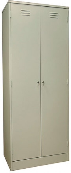 Шкаф металлический для одежды ШРМ - АК купить на выгодных условиях в Красноярске