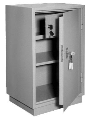 Шкаф металлический для хранения документов КБ - 012т / КБС - 012т купить на выгодных условиях в Красноярске