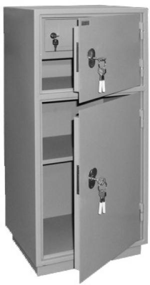 Шкаф металлический бухгалтерский КБ - 042т / КБС - 042т купить на выгодных условиях в Красноярске