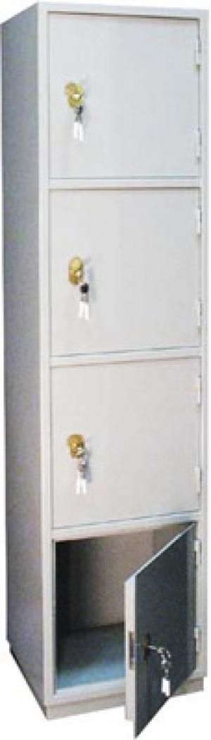 Шкаф металлический для хранения документов КБ - 06 / КБС - 06 купить на выгодных условиях в Красноярске