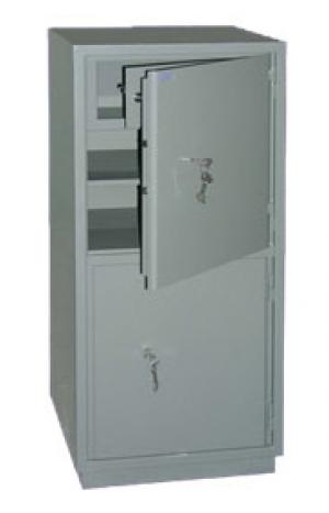 Шкаф металлический бухгалтерский КС-2Т купить на выгодных условиях в Красноярске