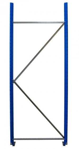 Рама для складского металлического стеллажа 3000x800 купить на выгодных условиях в Красноярске