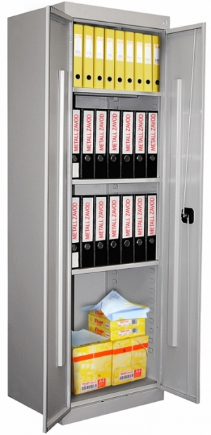 Шкаф металлический архивный ШХА-850 (40) купить на выгодных условиях в Красноярске