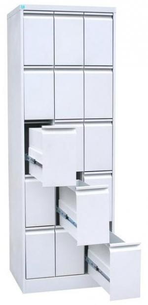 Шкаф металлический картотечный ШК-15 купить на выгодных условиях в Красноярске