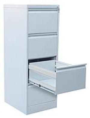 Шкаф металлический картотечный ШК-4 (4 замка) купить на выгодных условиях в Красноярске