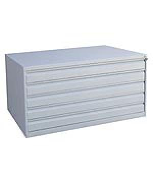 Шкаф металлический картотечный ШК-5-А0 купить на выгодных условиях в Красноярске