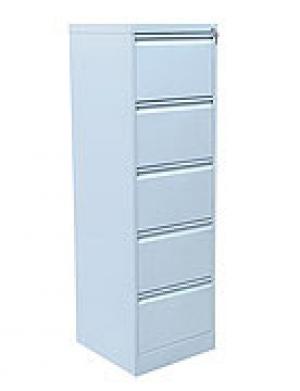 Шкаф металлический картотечный ШК-5 (5 замков) купить на выгодных условиях в Красноярске