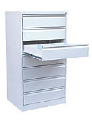 Шкаф металлический картотечный ШК-7-3 купить на выгодных условиях в Красноярске