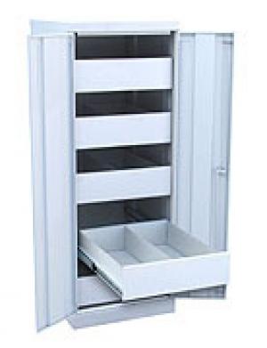 Шкаф металлический картотечный ШК-5-Д2 купить на выгодных условиях в Красноярске