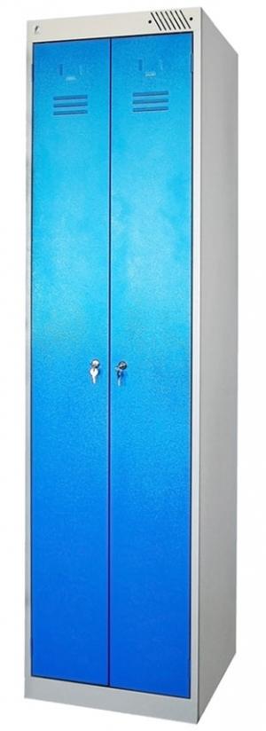 Шкаф металлический для одежды ШРЭК-22-500 купить на выгодных условиях в Красноярске