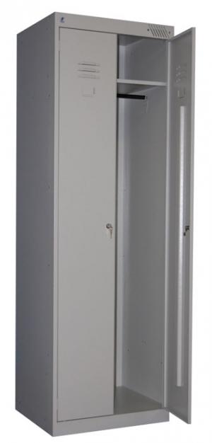 Шкаф металлический для одежды ШРК-22-800 купить на выгодных условиях в Красноярске