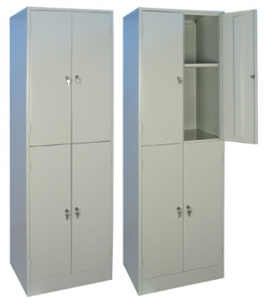 Шкаф металлический для хранения документов ШРМ - 24.0 купить на выгодных условиях в Красноярске