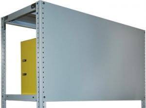 Стенка усиленная 100\70 для металлического стеллажа купить на выгодных условиях в Красноярске
