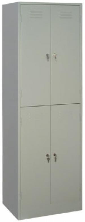 Шкаф металлический для одежды ШРМ - 24 купить на выгодных условиях в Красноярске