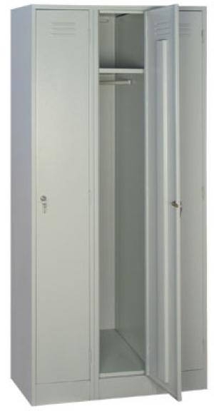 Шкаф металлический для одежды ШРМ - 33 купить на выгодных условиях в Красноярске